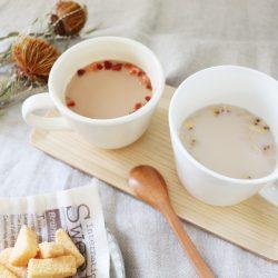 冷えた体にプラス温!お手軽に楽しめる本格ティー&スープ
